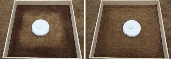 Nettoyage d'un tapis par le Xiaomi mi roborock s50 v2