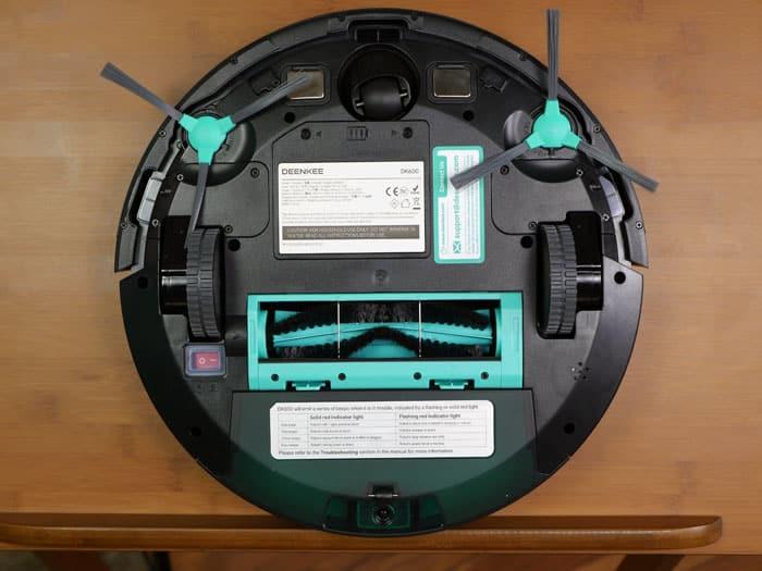 Robot aspirateur Deenkee DK600 : avis et test détaillé